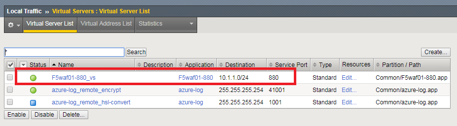 2 2 1  Lab 2 – Deploy an F5 Web Application Firewall using the Azure